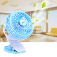 Mini Usb Fan 360 Ratation Stroller Cooling Fan Small Portable Mute Silent Desktop Clip-on Ventilador for Office Car USB Gadgets